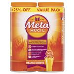 Metamucil Smooth Orange 72x2 Bulk Pack