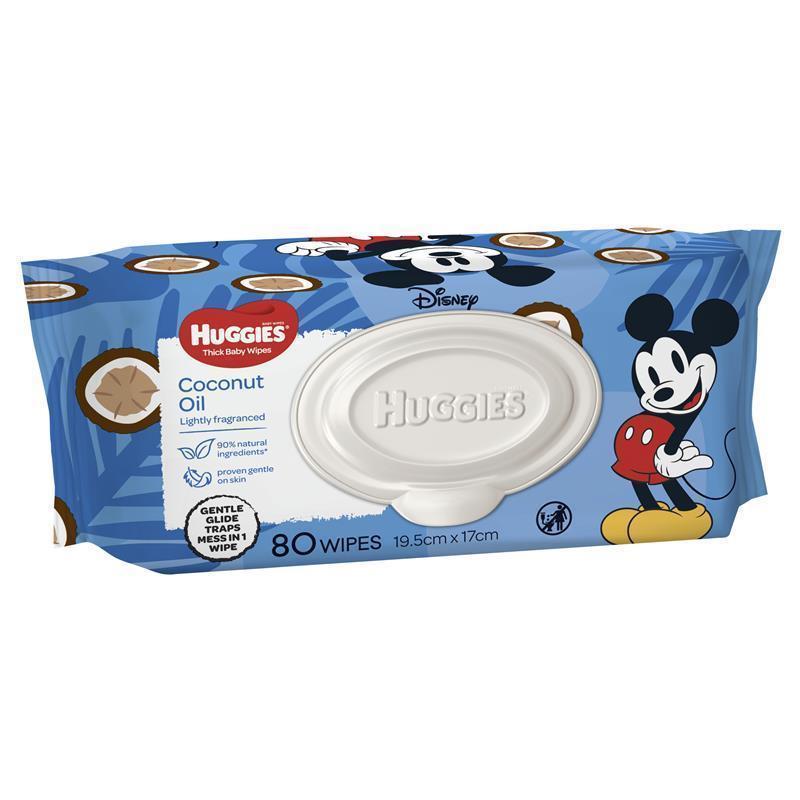 하기스 코코넛 센티드 80 와입스