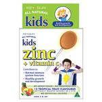 Key Sun All Natural Kids Zinc Plus Vitamin C 12 Lozenges