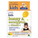 Kids Honey and Eucalyptus Plus Vitamin C 12 Lozenges