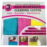 Microfibre Cleaning Cloths 3 Pack
