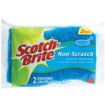 Scotch Brite Non-Scratch Sponge Twin Pack