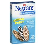 Nexcare Waterproof Animal Strips 20