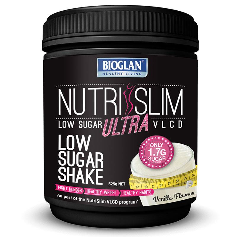Bioglan Nutrislim Low Sugar VLCD Vanilla 525g Tub Exclusive Size | Tuggl