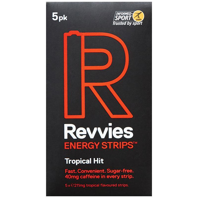 Buy Revvies Energy Strips Tropical Hit 5 Pack Online at