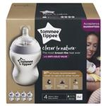 Tommee Tippee Closer to Nature Bottles 260ml 4 Pack