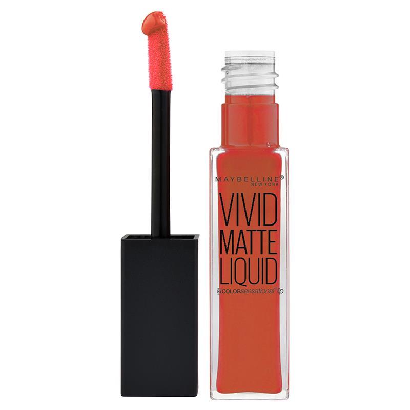 13 Sensational Schemes That Are: Buy Maybelline Color Sensational Vivid Matte Liquid Lip