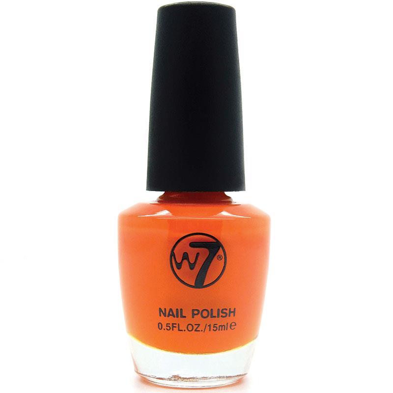 W7 네일에나멜 11 오렌지 크림