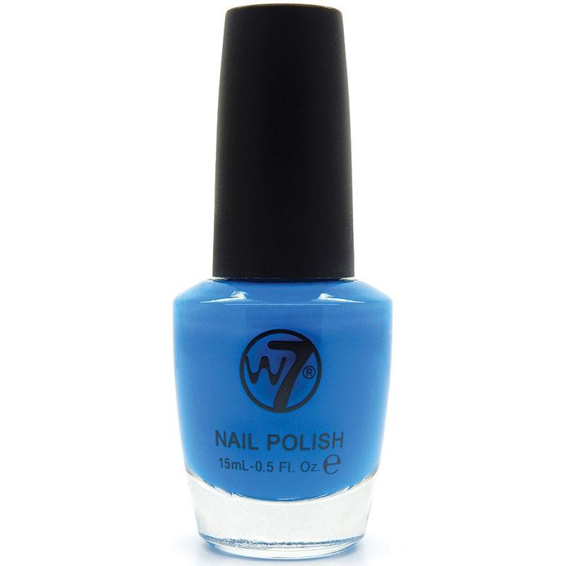 W7 네일에나멜 22 네온 블루