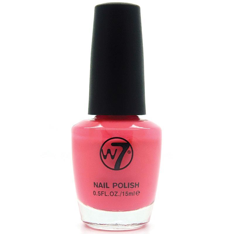 W7 네일에나멜 23 네온 핑크