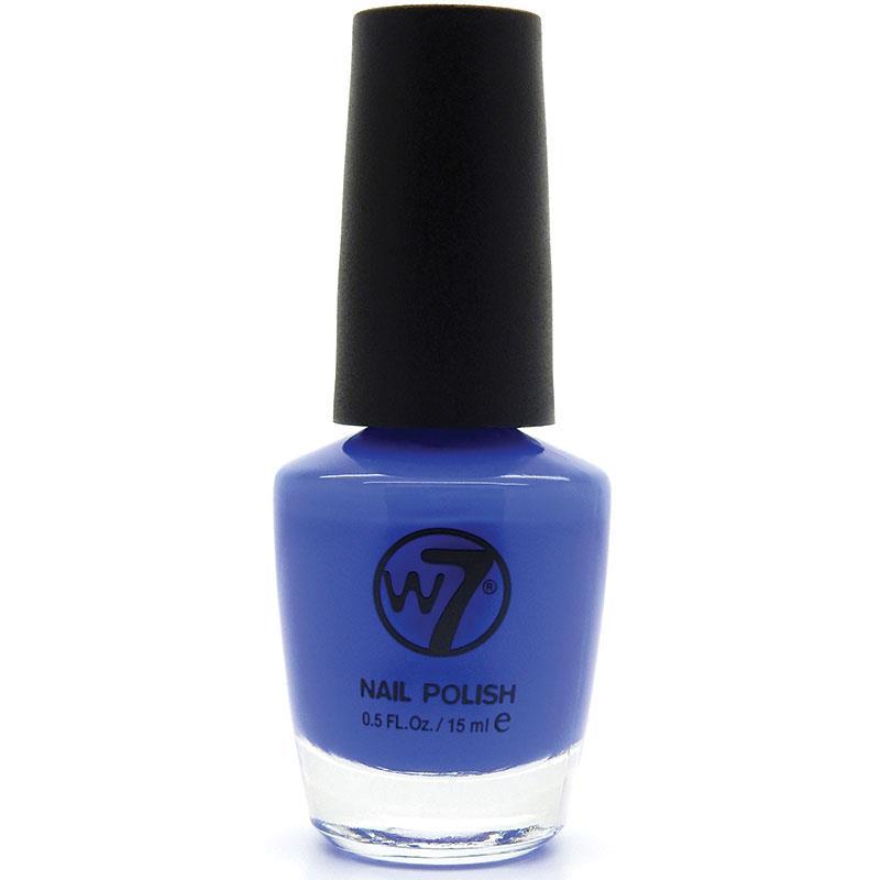 W7 네일에나멜 35 브레이즌 블루