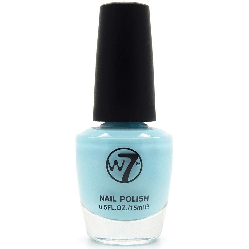 W7 네일에나멜 62 시어 블루