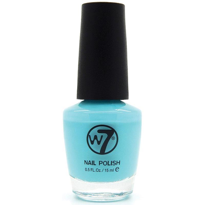 W7 네일에나멜 74 썸머 블루