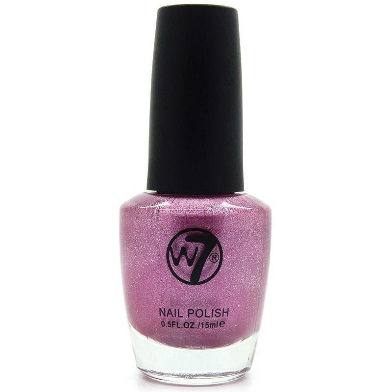 W7 네일에나멜 95 핑크 미러