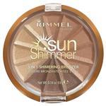Rimmel 3 in 1 Shimmering Bronzer 002