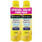 Neutrogena SPF 50+ Beach Defence Mist 2 x 184g Twin Pack