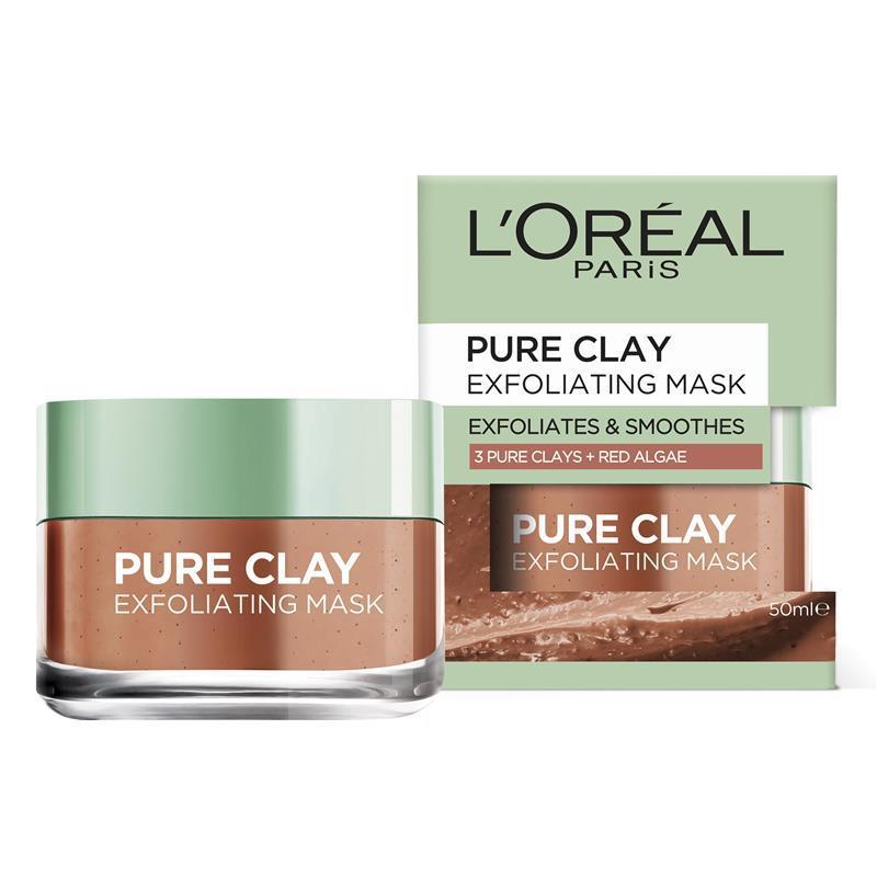 Buy L'Oreal Paris Pure Clay Exfoliating Red Algae Mask