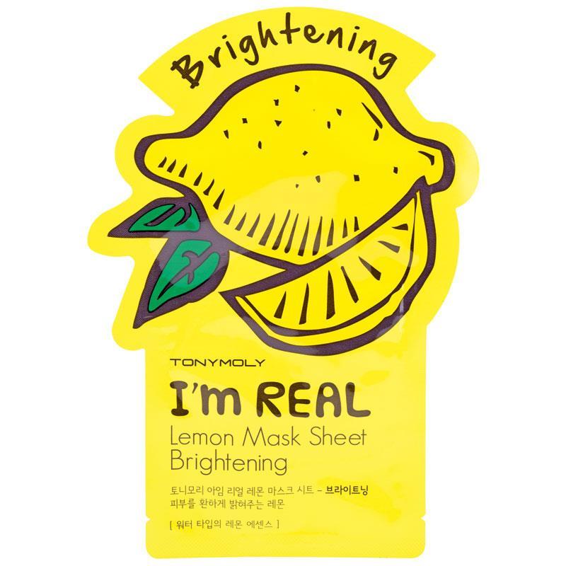 Buy Tony Moly I Am Real Lemon Brightening Sheet Mask