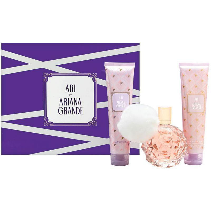 buy ari by ariana grande eau de parfum 100ml 3 piece set. Black Bedroom Furniture Sets. Home Design Ideas