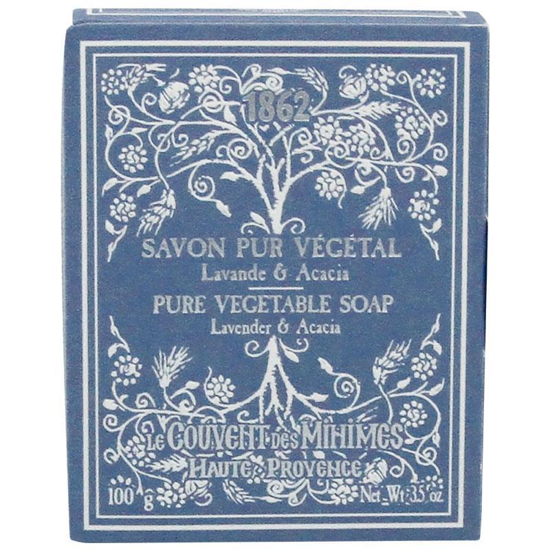 Buy le couvent des minimes lavender acacia soap bar 100g online at chem - Le couvent des mimines ...