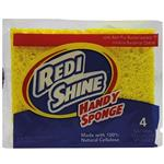 Redi Shine Handy Sponge 4 Pack