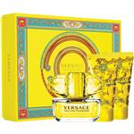 Versace Yellow Diamond Eau de Toilette 50ml 3 Piece Set