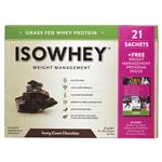 IsoWhey Weight Management Whey Protein 21 Sachets Ivory Coast Chocolate