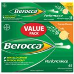 Berocca Orange 45 + Mango 15 Tablets
