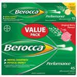 Berocca Original 45 + Mango 15 Tablets