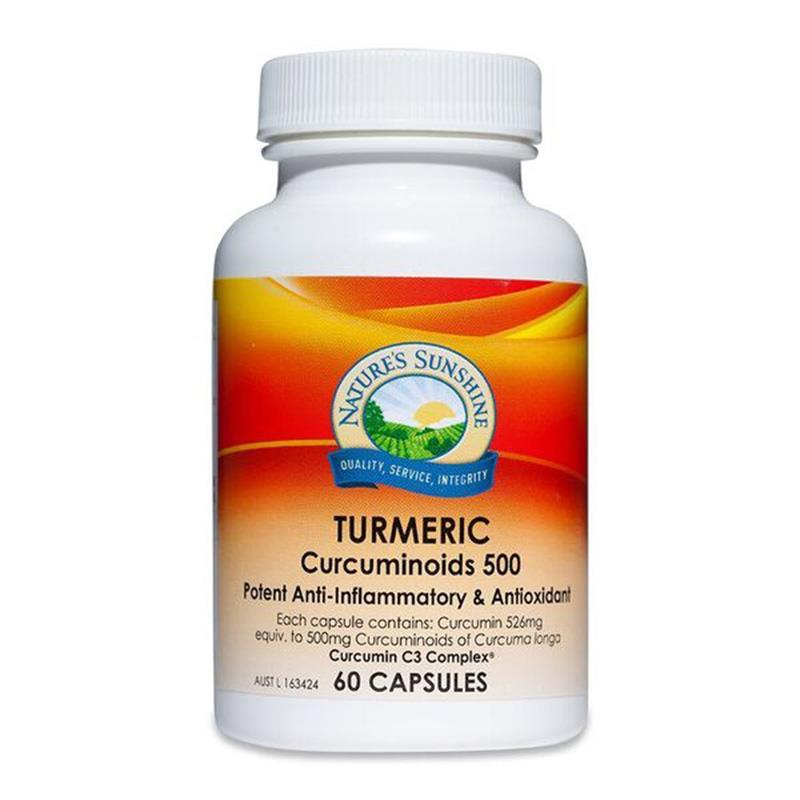 Natures Sunshine Turmeric 526mg 60 Capsules at Chemist Warehouse in Campbellfield, VIC | Tuggl