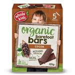 Whole Kids Organic Barefoot Bars Cocoa 25g 5 Pack