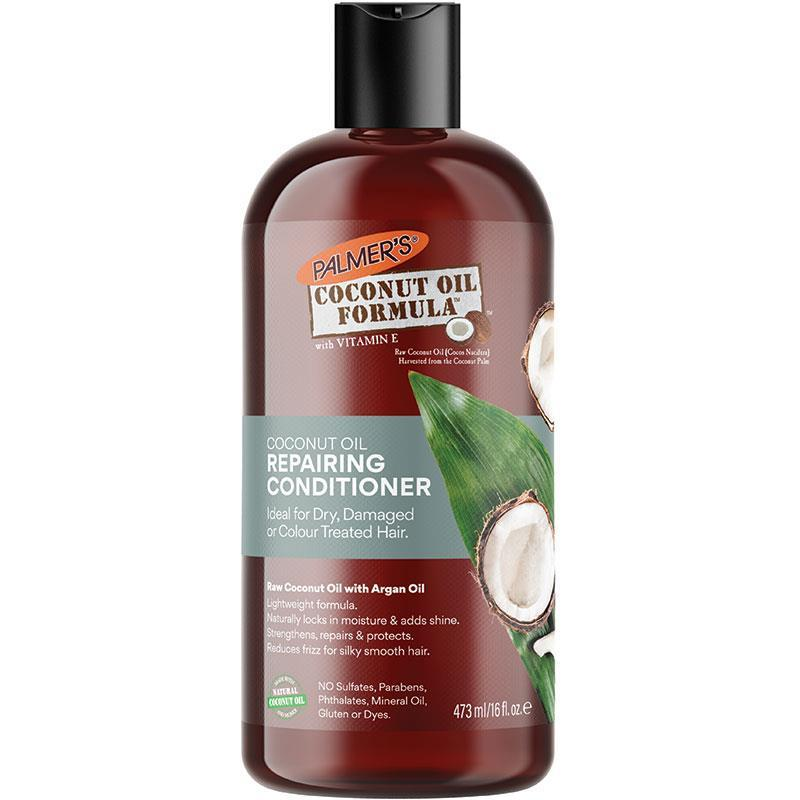 Conditioner with coconut oil