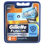 Gillette Fusion Proshield Chill Refill Blades 4 pack