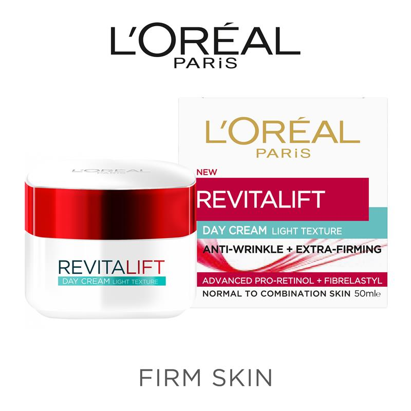 Buy L'Oreal Paris Revitalift Light Day Cream 50ml Online