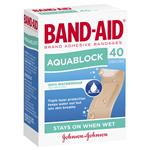 Band-Aid Aquablock Strips 40 Pack