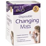 Rite Aid Changing Mats 6 Pack
