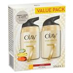 Olay Total Effects Moisturiser Normal UV 50g Twin Pack