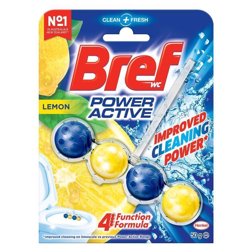 BREF Power Active Lemon 50g | Tuggl