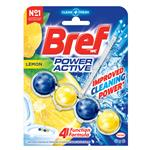 Bref Power Active Juicy Lemon Toilet Block 50g