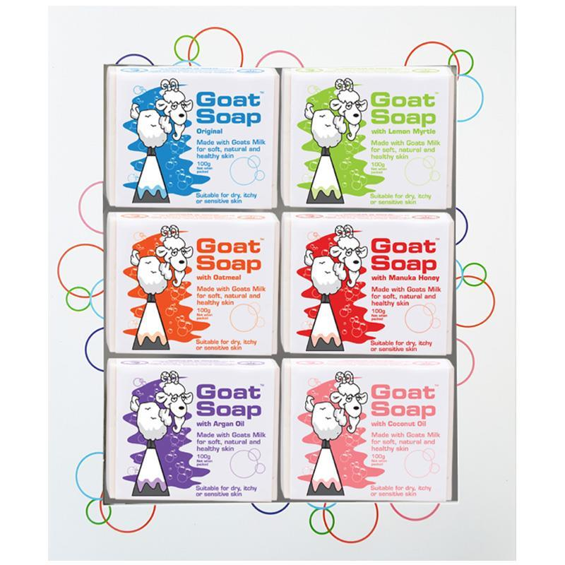 Goat Soap 100g 6 Pack Gift Set at Chemist Warehouse in Campbellfield, VIC   Tuggl