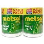 Metsal Cream 500g Exclusive Twin Pack