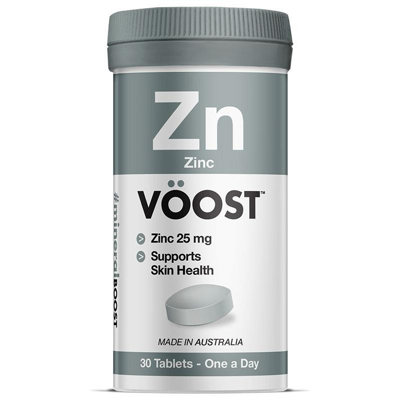 Voost Zinc 25mg 30 Tablets at Chemist Warehouse in Campbellfield, VIC | Tuggl