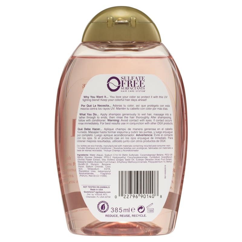 Buy Ogx Orchid Oil Shampoo 385ml Online At Chemist Warehouse