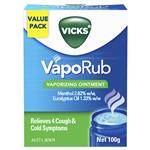Vicks VapoRub Ointment Decongestant Chest Rub 100g