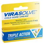 Virasolve Cold Sore Cream