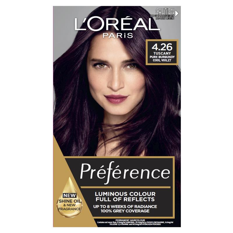 Buy L Oreal Preference 4 26 Pure Burgandy Online At