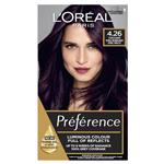 L'Oreal Paris Preference Permanent Hair Colour - 4.26 Pure Burgundy (Intense, fade-defying colour