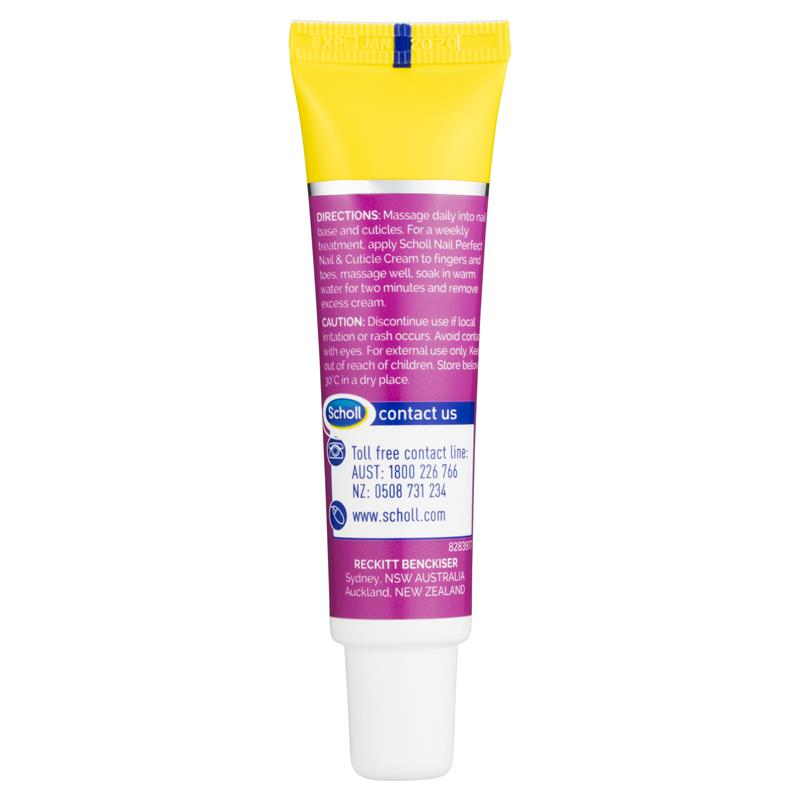 Buy Scholl Nail & Cuticle Cream 20g Online at Chemist Warehouse®