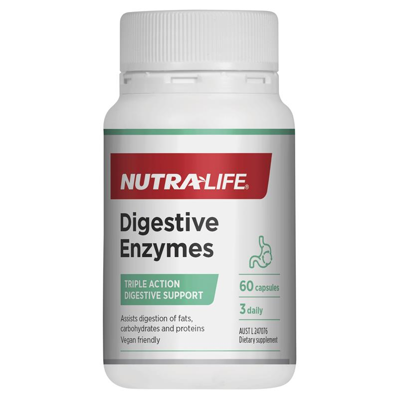 Nutra-Life Digestive Enzymes 60 Capsules at Chemist Warehouse in Campbellfield, VIC | Tuggl