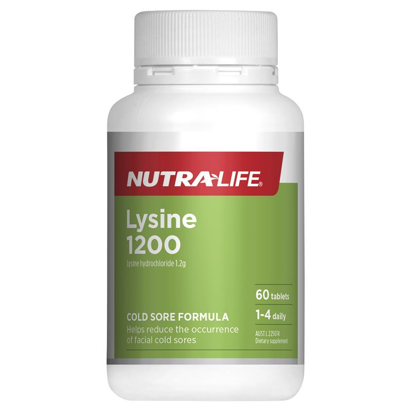 Nutra-Life L-Lysine 1200mg 60 Tablets at Chemist Warehouse in Campbellfield, VIC | Tuggl